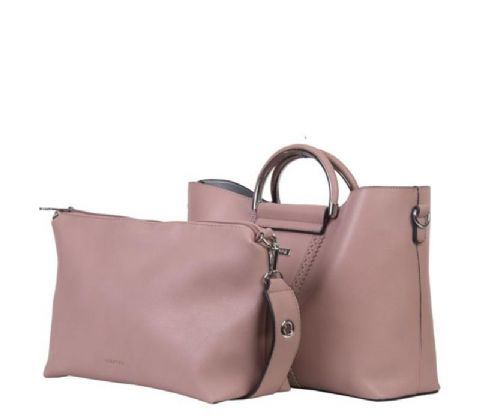 BULAGGI Pastel Pink Shopping Bag